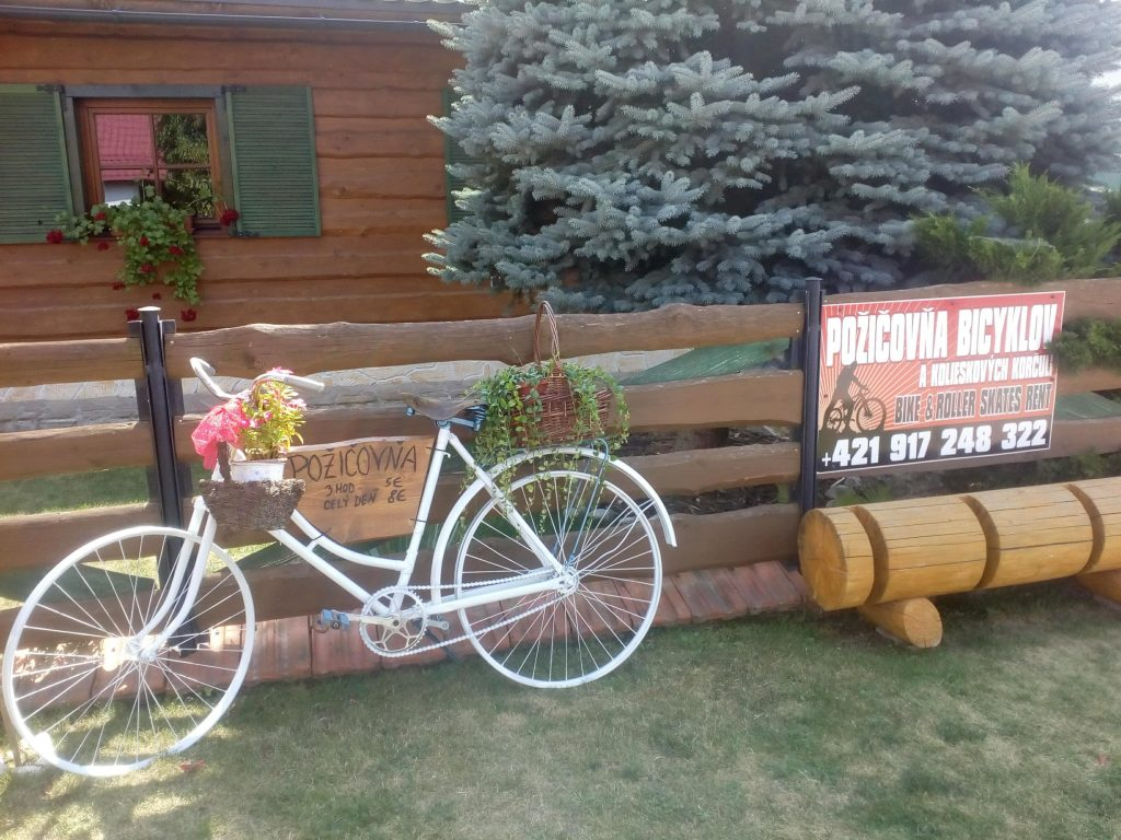požičanie bicyklov